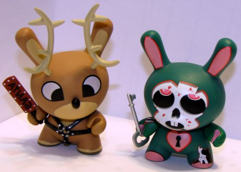 Reindeer secret & Tattoo dunny